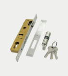 Euro Mortice Lock with Cylinder - Latch