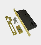 UNION Mortice Lock with 64mm euro profile cylinder