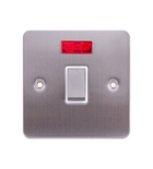 A&T 20A Double Pole Switch With Neon 3mm